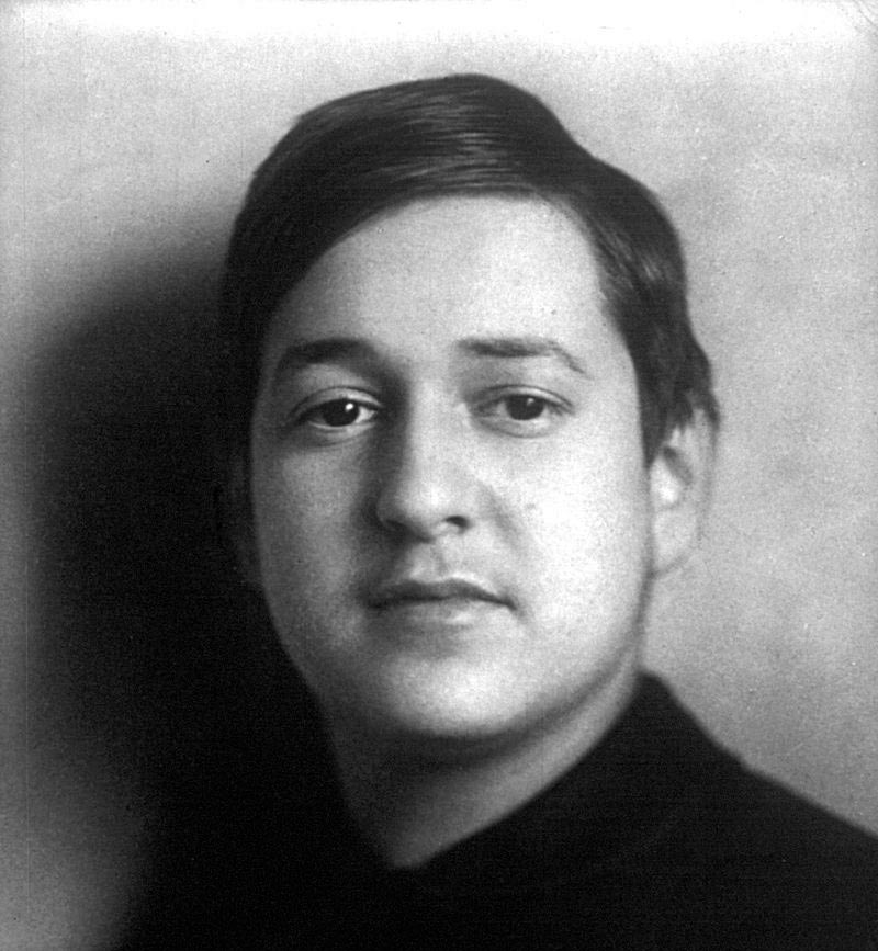 Austrian-American composer Erich Wolfgang Korngold