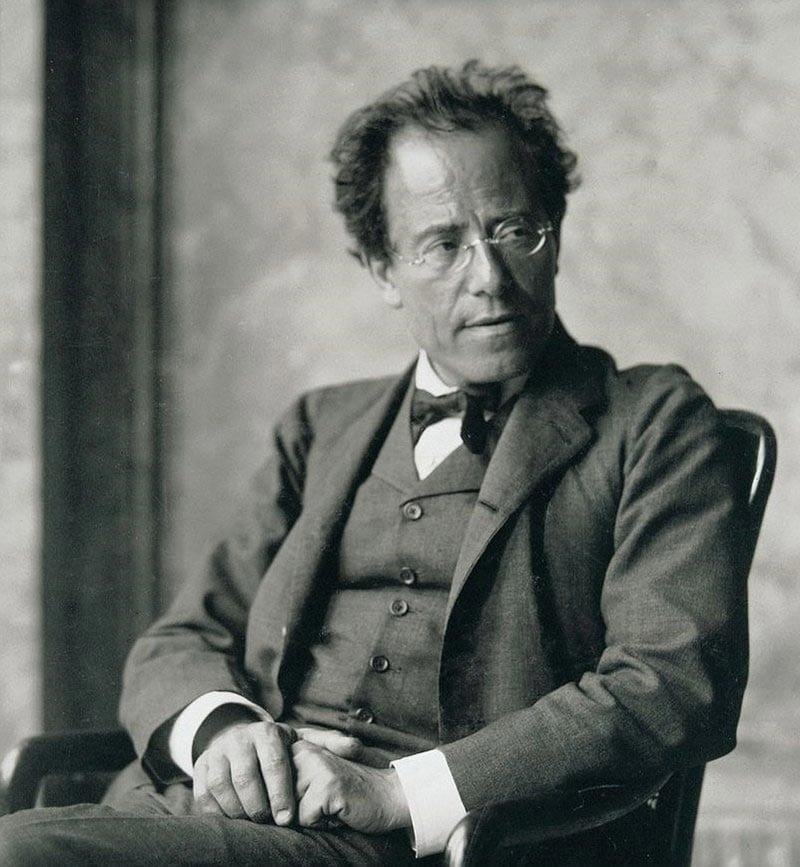 Austrian composer Gustav Mahler